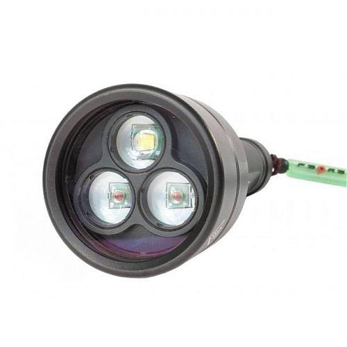 Подводный фонарь Ferei W153 (комплект)  Белый светодиод -800 лм. Красные светодиоды - 500 лм.