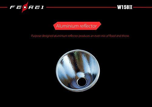 Подводный фонарь Ferei W158II NW Нейтральный свет  1920 лм. Можно использовать на суше. Нейтральный свет