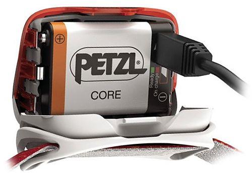 ёмкость 1250mAh, встроенная зарядка через microUSB подходит к фонарям Petzl