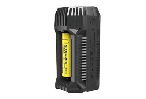 Зарядное устройство Nitecore V2  Универсальное. 2 слота. Возможность выбора тока