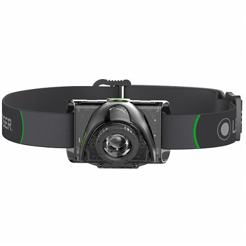 Налобный фонарь Led Lenser MH6  200 лм, быстрая фокусировка.Зарядка USB